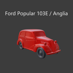 solid3.png Download STL file Ford Anglia 103E / Popular • Template to 3D print, ditomaso147