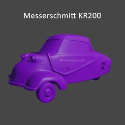 Impresiones 3D Messerschmitt KR200 - Microcar, ditomaso147
