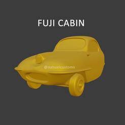 fujicabin1.png Télécharger fichier STL Cabine Fuji - Microcar • Objet pour imprimante 3D, ditomaso147