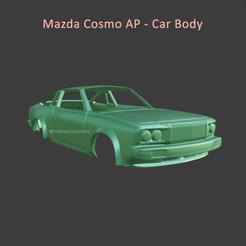 cosmo1.png Télécharger fichier STL Mazda Cosmo AP - Carrosserie • Objet imprimable en 3D, ditomaso147