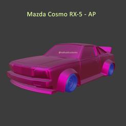 cosmob5.png Télécharger fichier STL Mazda Cosmo RX-5 AP • Plan à imprimer en 3D, ditomaso147