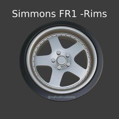 Nuevo proyecto (96).png Télécharger fichier STL Simmons FR1 - Jantes • Modèle pour imprimante 3D, ditomaso147