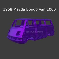 Nuevo proyecto (81).png Download STL file 1968 Mazda Bongo Van 1000 • Model to 3D print, ditomaso147