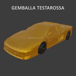 gemballa5.png Download STL file FERRARI TESTAROSSA GEMBALLA • Design to 3D print, ditomaso147