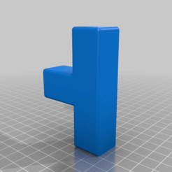 Download free 3D printing models 25mm Square steel tube joiners and mounts, KShapley