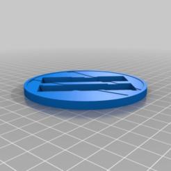 Download free 3D printer templates COD II Coaster, KShapley