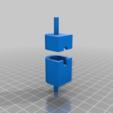 Download free 3D printer designs Fender Rhodes Pickup Winding Holder, KShapley