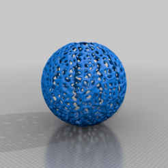 Download free 3D printer model Voronoi Ball Lampshade, KShapley
