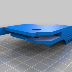 096c_Tevo_clip_RL.png Download free STL file Braces for Tevo Tornado with Anycubic build plate • Model to 3D print, KShapley
