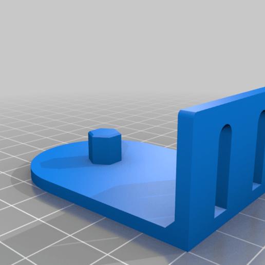 Download free 3D printer designs Window blind hex mount, KShapley