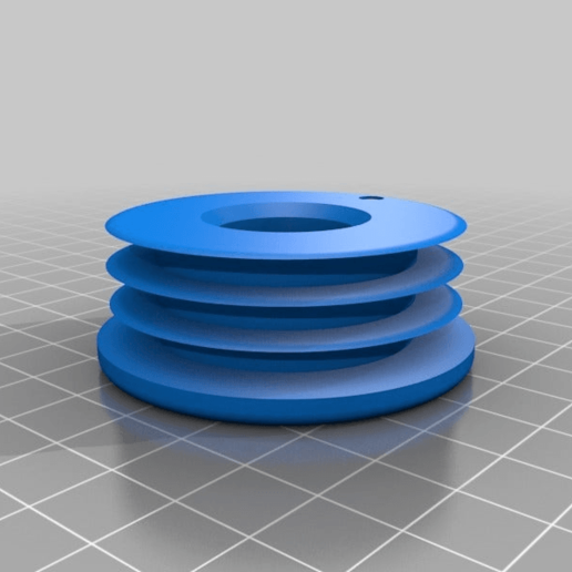 Download free 3D printing models couch or futon foot tube insert, KShapley