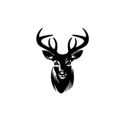 2.png Download STL file Deer Head 2D Wall Art Decoration • Object to 3D print, saracokan