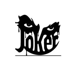 2.png Download STL file Joker Human Art 2D • 3D printer model, saracokan