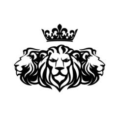 2.png Download STL file Three Lions Wall Art • 3D printing template, saracokan