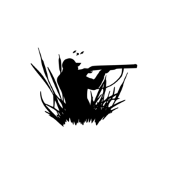 2.png Download STL file Duck Hunting Theme Art • Template to 3D print, saracokan