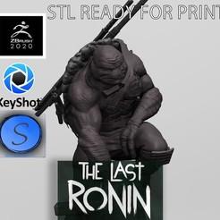 0.jpg Télécharger fichier STL OFFRE!-NINJA TURTLE LAST RONIN (fan art) STL • Plan imprimable en 3D, SCULPSTATION