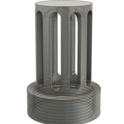 column2.PNG Download free STL file Basic filter adaptor for using Lay-Z-Spa filters on your CleverSpa • 3D printing template, PRINT3DCONCEPTS
