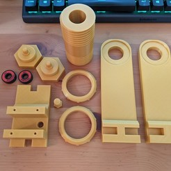 PXL_20200927_103623784.jpg Download free STL file [NOW FREE] The Greatest Filament Roller on the internet, bar none :) • Design to 3D print, PRINT3DCONCEPTS