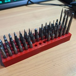 PXL_20201018_171258175.jpg Download free STL file Simple precision screwdriver bit holder (WowStick etc!) • 3D printer object, PRINT3DCONCEPTS