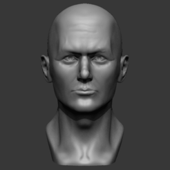 Download 3D model Male Bust 3D - printing ready model., Matthew1338