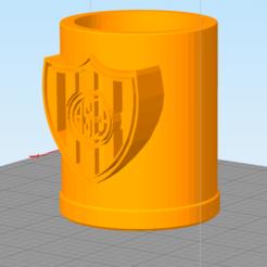 San Lorenzo.png Télécharger fichier STL Mate San Lorenzo • Modèle imprimable en 3D, nestor-herrera95