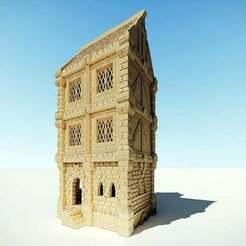 ulvheim_04_cover.jpg Télécharger fichier STL gratuit Maison d'Ulvheim • Objet pour impression 3D, Code2