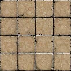 Rock_Floor_Tiles.jpg Télécharger fichier STL gratuit Carreaux de sol en pierre • Objet pour impression 3D, Code2