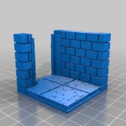 b8e4b648dffe713f4601a4dabb4b3d5f.png Télécharger fichier STL gratuit OpenForge 2.0 Angle de mur en pierre de taille avec porte carrée • Plan pour imprimante 3D, Code2