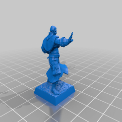 Wow_Khadgar_28mm_Full.png Download free STL file WoW Kadgar 28mm • Object to 3D print, Code2