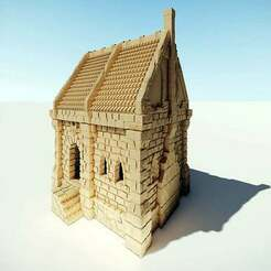 ulvheim_01_cover.jpg Download free STL file Ulvheim Cottage • 3D printable template, Code2