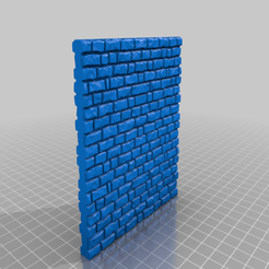 Wall_10x10.png Download free STL file Medieval Stone Wall 28mm Scale - 10x10cm • Object to 3D print, Code2