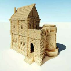 ulvheim_02_cover.jpg Download free STL file Ulvheim Noble House • 3D printer design, Code2