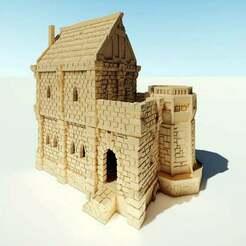 ulvheim_02_cover.jpg Télécharger fichier STL gratuit La maison noble d'Ulvheim • Plan pour imprimante 3D, Code2