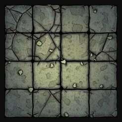 Screenshot_1.jpg Download free STL file Stone Old Floor Tile • 3D printer object, Code2