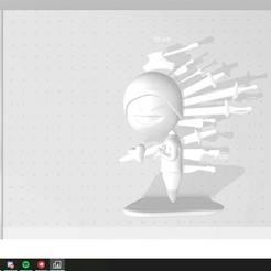 """ddd.jpg Télécharger fichier OBJ Meme """"im fine • Objet imprimable en 3D, Ezequielidus"""
