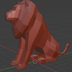 Leon.PNG Télécharger fichier STL gratuit Leon • Objet imprimable en 3D, rodrigo_valle5