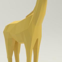 jirafa_3.PNG Download free STL file Giraffe • 3D printing template, rodrigo_valle5