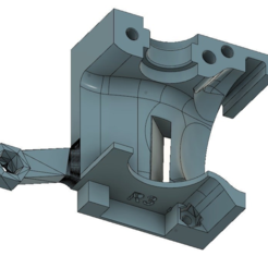MK3_R3_extruder_cover_with_vertical_blower.PNG Télécharger fichier STL gratuit Ancienne extrudeuse r3 de type soufflante pour la Prusa MK3 d'Origenal • Plan à imprimer en 3D, AcE-Craft