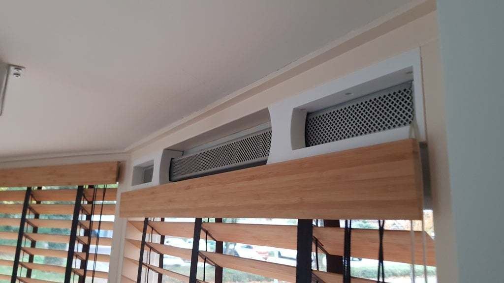 20181101_153758.jpg Download free STL file Blinds Frame for Window with air vents • 3D printer design, AcE-Craft