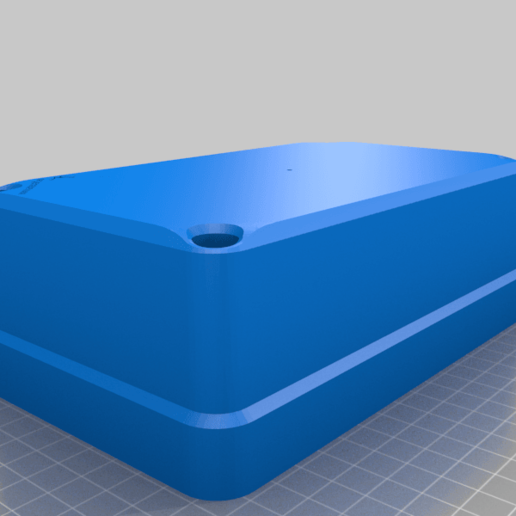 Test_electrobox_110x190_Lid.png Download free STL file Electronics junction, switch or utility box 110x190x150 • 3D printing design, AcE-Craft