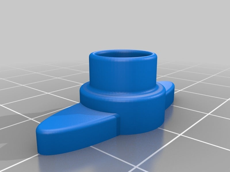 4c63bacc7f53e5c9e75cdf24047412b0.png Download free STL file Paint roller adaptor caps (4 to 8 mm) • 3D printing template, AcE-Craft