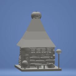 Sans titre maison pour tous poison .png Télécharger fichier STL gratuit abri pour tous poison • Design à imprimer en 3D, funaifunai17