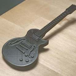 lespaulsupreme01.jpg Download free STL file Gibson Les Paul Supreme Electric Guitar • 3D printing template, Perplex_3D