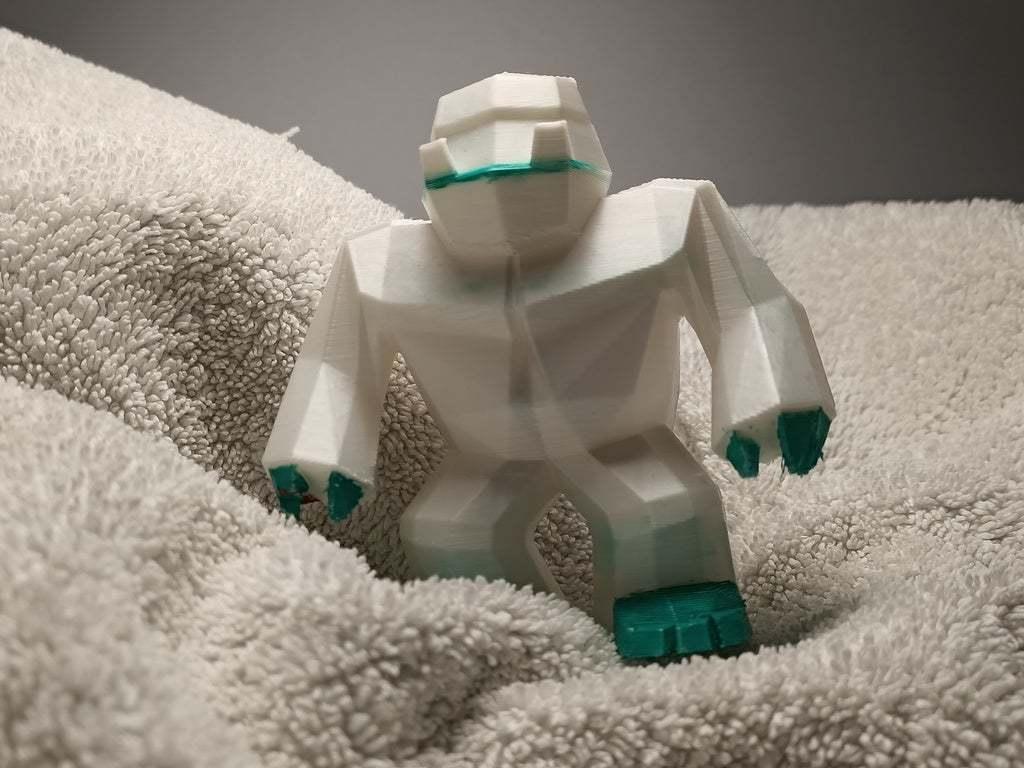 IMG20200710184413.jpg Download free STL file Low poly Yeti / Bigfoot • 3D printable object, Perplex_3D