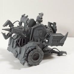 isometric mek gun.jpg Download STL file Orkish Scrap Gun • 3D printer template, toasty