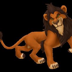 Download STL file scar disney the lion king, molfilm