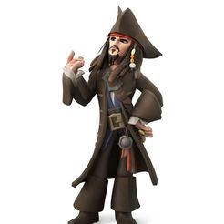 16c946524ce16cfe924bbbffef7d8a34.jpg Download free STL file jack sparrow disney infinity pirates of the caribbean • Template to 3D print, molfilm