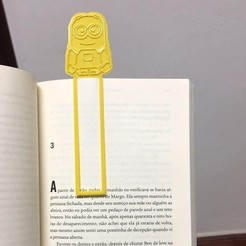 Télécharger plan imprimante 3D Signet Minion, blendadvbaron