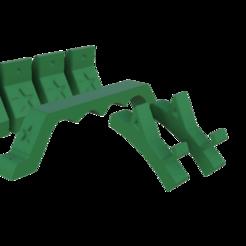 Foto verde.png Télécharger fichier STL Pés, Alça e Suporte de Celular para caixa de som Barril Heineken • Modèle pour impression 3D, blendadvbaron