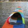 Download STL file World's First 3D Printed Kayak [STLs Only] • 3D printer object, GrassRootsEng